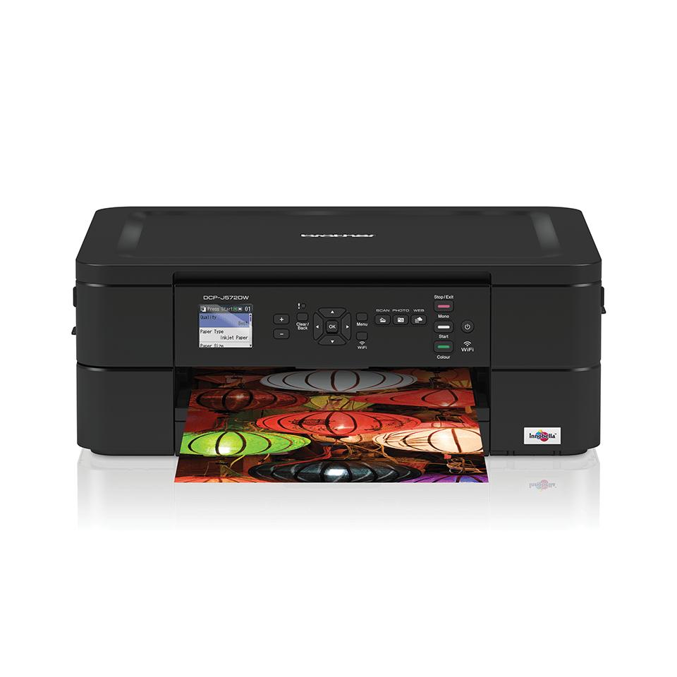 Impressora multifunções de tinta DCP-J572DW Brother