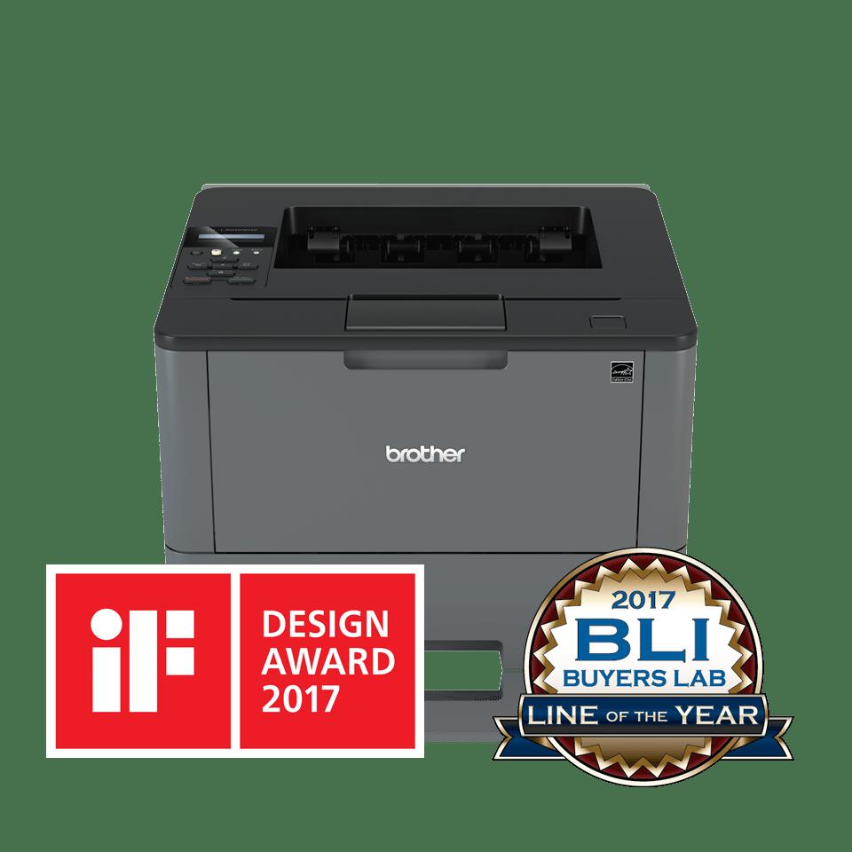 Impressora laser monocromática HL-L5200DW, Brother