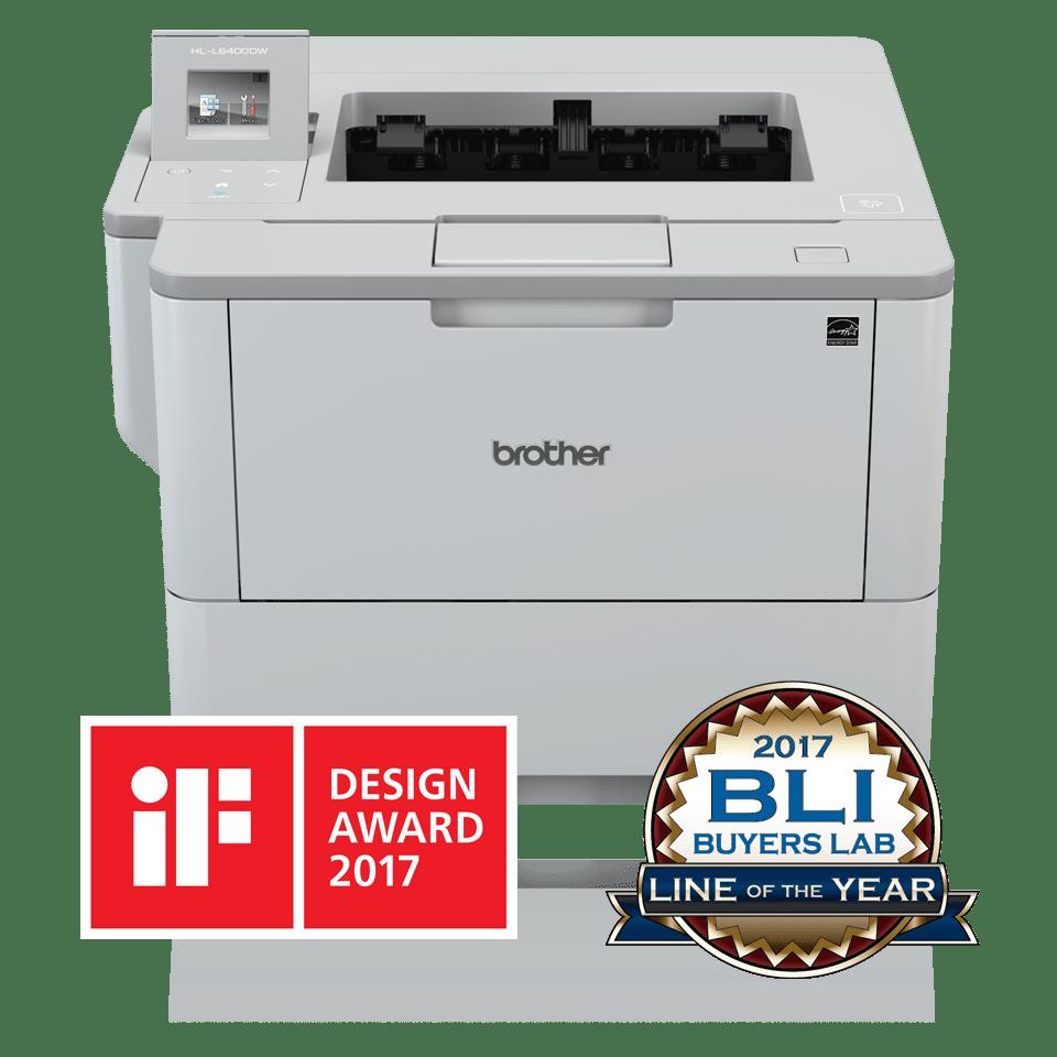 Impressora laser monocromática HL-L6400DW, Brother