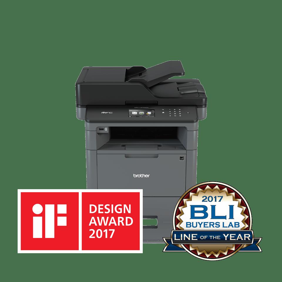 Impressora multifunções laser monocromática MFC-L5700DN, Brother