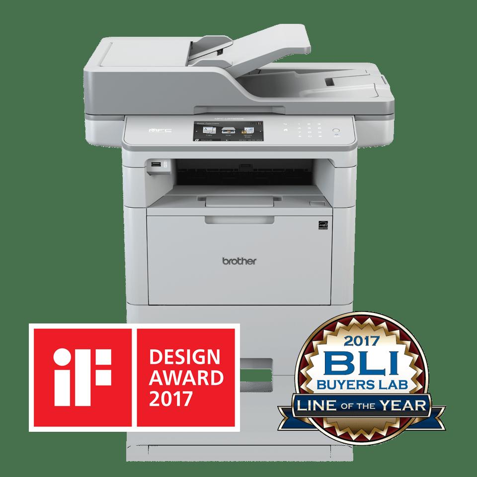 Impressora multifunções laser monocromática MFC-L6900DW, Brother