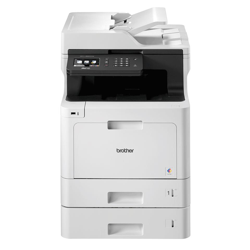Impressora multifunções laser monocromático MFC-L8690CDWLT, Brother