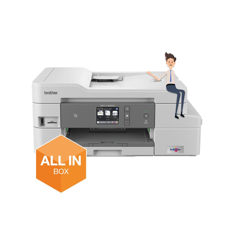 Impressora multifunções de tinta MFC-J1300DW Brother