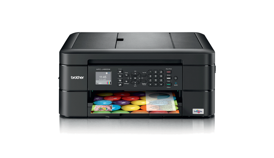 Impressora multifunções de tinta WiFi com fax MFC-J480DW, Brother