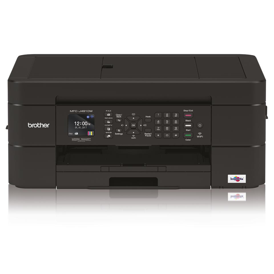 Impressora multifunções de tinta MFC-J491DW Brother