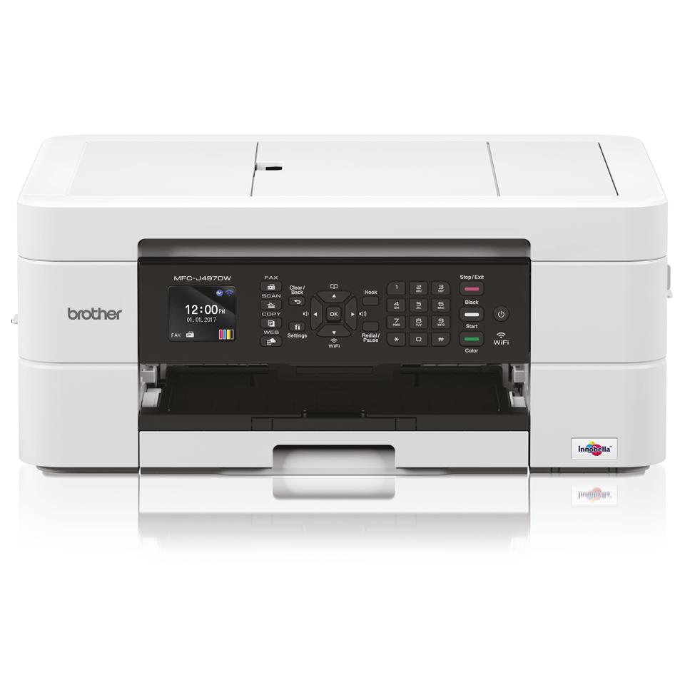 Impressora multifunções de tinta MFC-J497DW Brother
