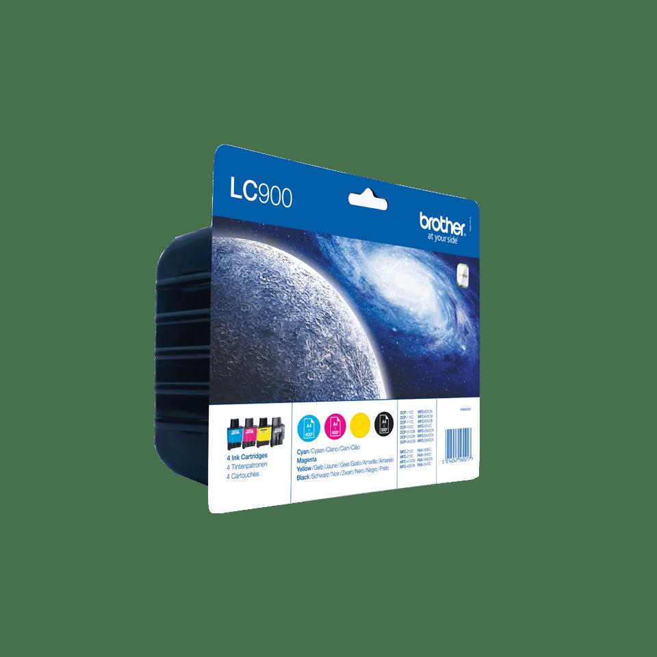 LC900 Pack 4 tinteiros 2