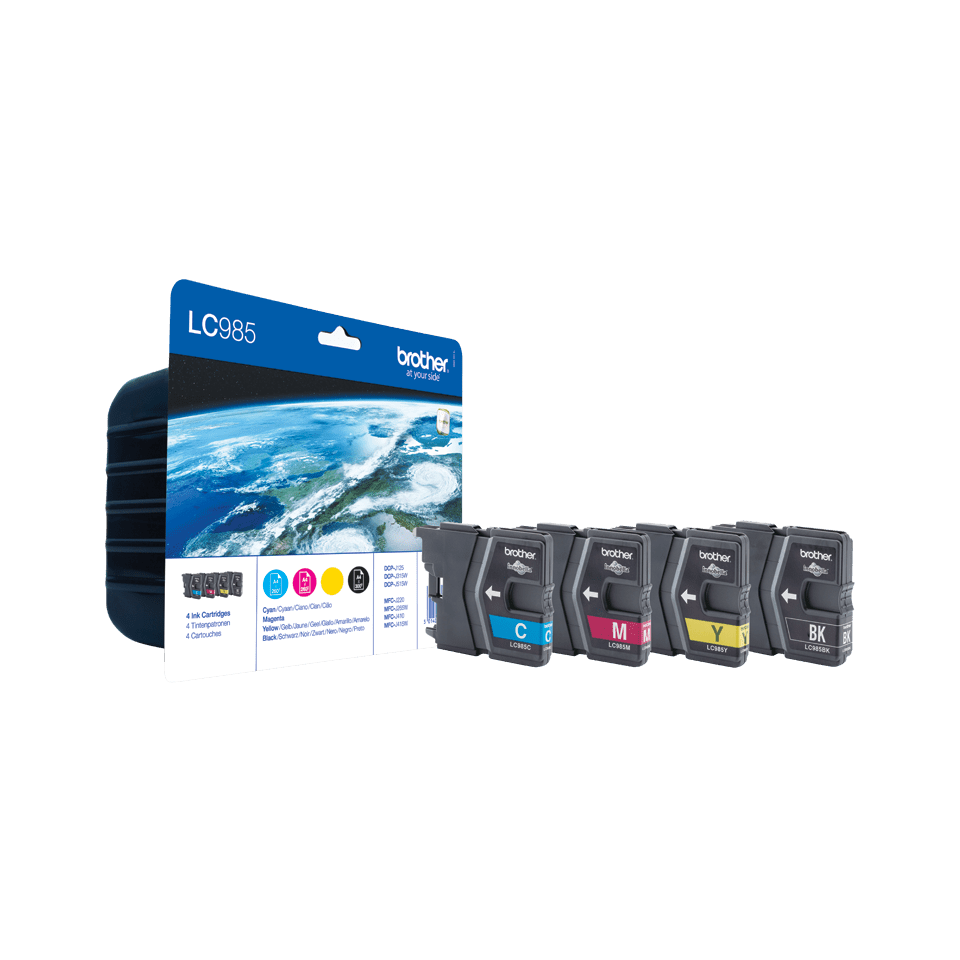 LC985 Pack 4 tinteiros