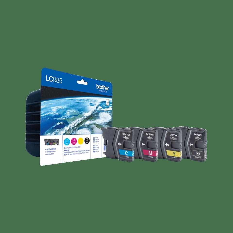 LC985 Pack 4 tinteiros 2