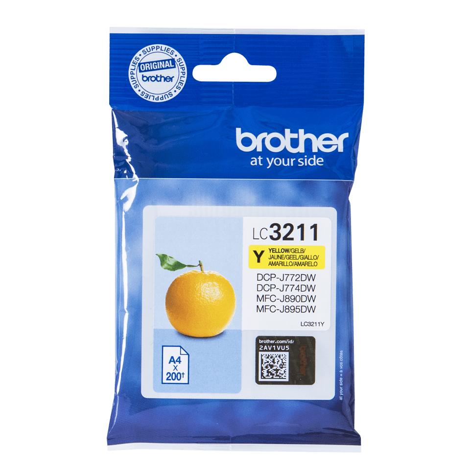 Toner amarelo LC3211Y, Brother