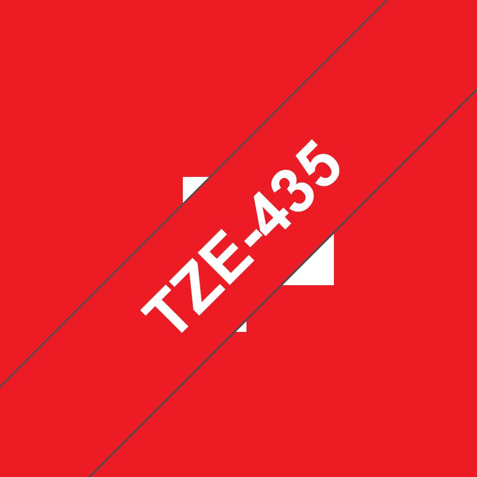 Fita laminada TZe435 Brother